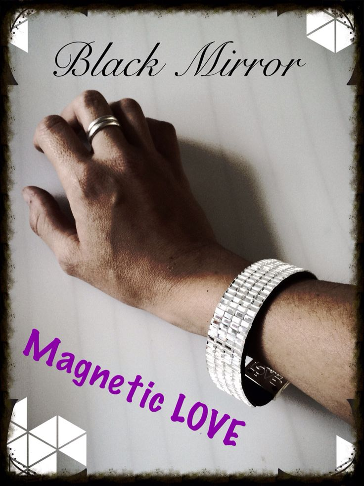 Line LUXURY  Black Mirror only Magnetic Love®