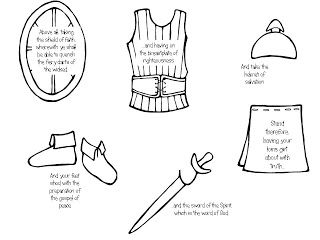 11 best Armor of God Bible Crafts images on Pinterest