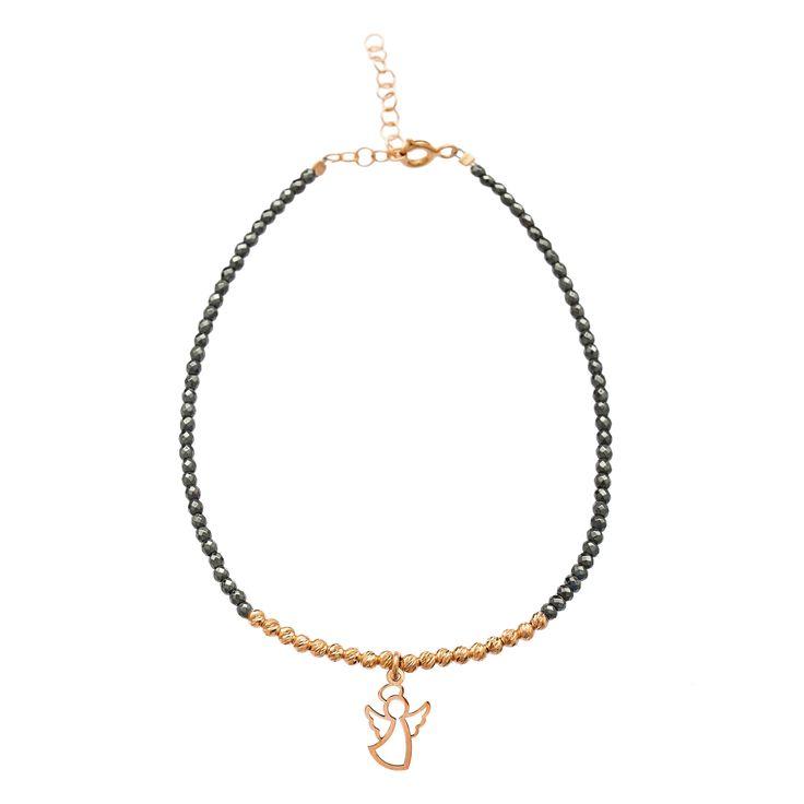 New Arrivals Fashion 925 Silver Jewelry Hematite Beads Chain Making Company Turkey
