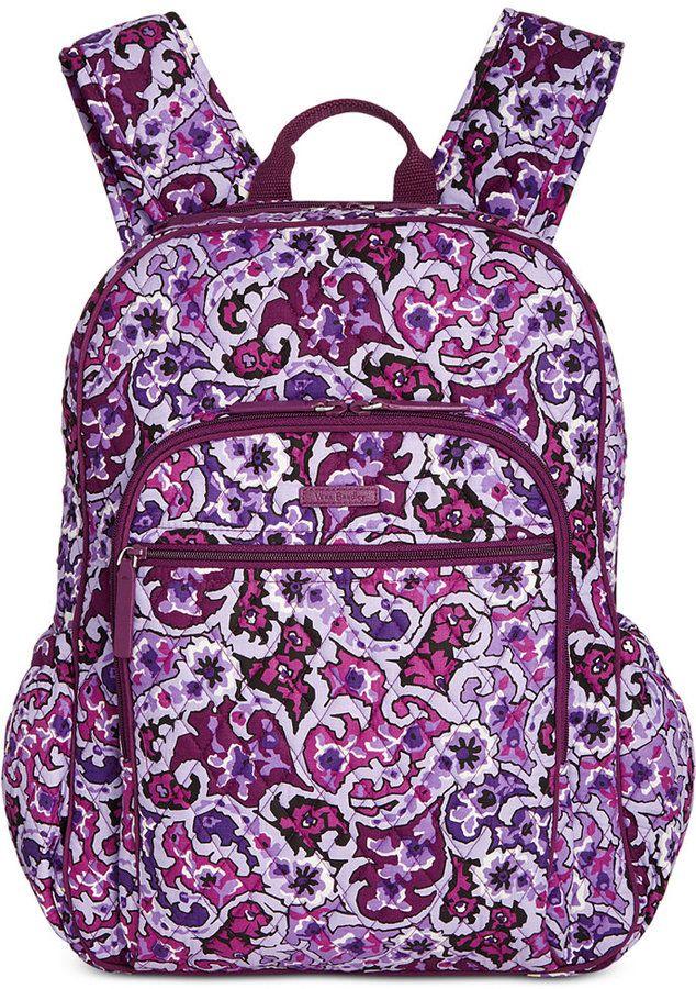 3b7f673ece3d Vera Bradley Campus Tech Backpack  108.00 http   shopstyle.it l qplt ...
