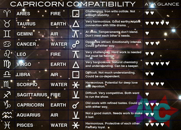 capricorn best relationship match