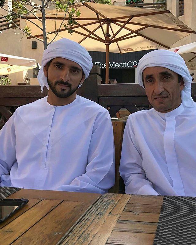 H.H Sheikh Hamdan bin Mohammed bin Rashid Al Maktoum and H.H Sheikh Saeed bin Maktoum bin Juma Al Maktoum. 06.01.17  #sheikhhamdan#hamdanbinmohammed#hamdan#crownprince#almaktoum#faz3#fazza#fazza3#dubai#mydubai#uae#emirates#2017 #repost @faz3