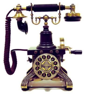 Antique phone replica