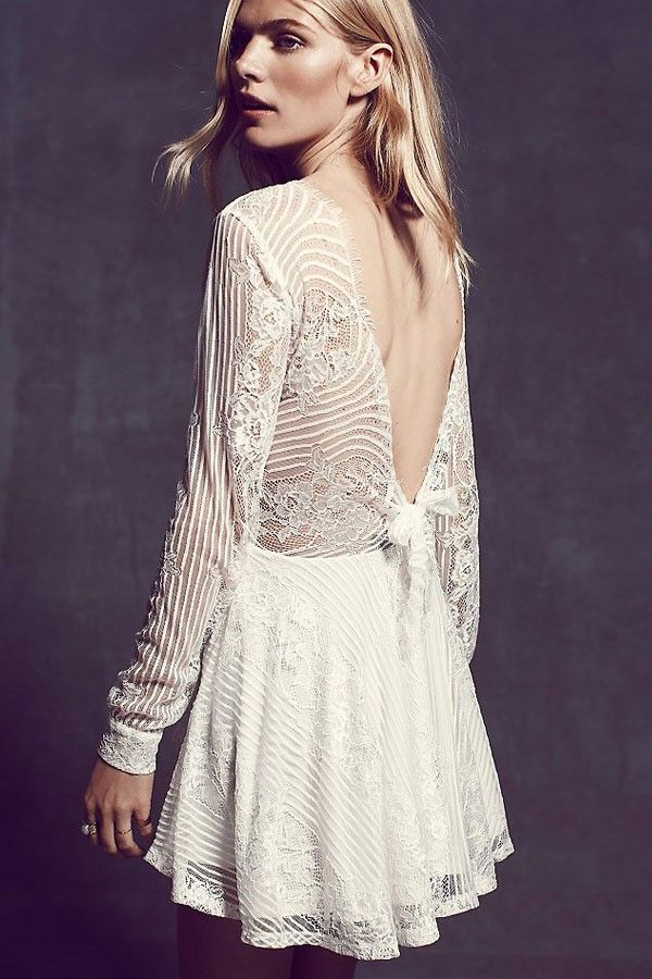 High Street Thrilling Lace Fit Flared Party Skater Dress Tag: white skater dress