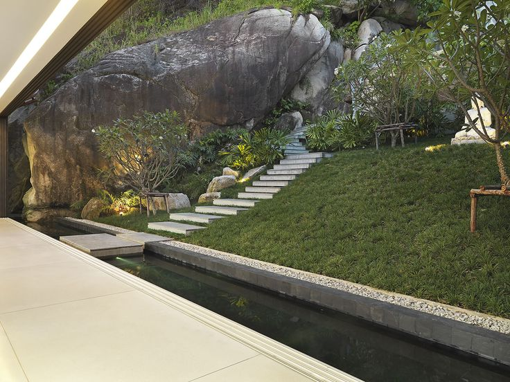 The Villa Amanzi, Phuket Is An Amazing Home Perched On A Rock Face In  Phuket Thailand Enjoying The Most Stunning Views.