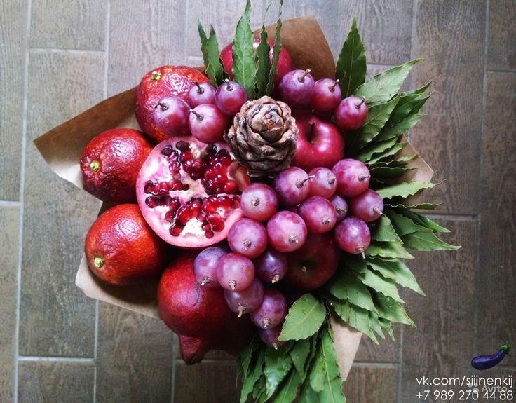 Bildergebnis für букеты из овощей и фруктов фото