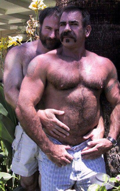 Hairy Muscle Bears Beards Men Ink Love Is Love  Men