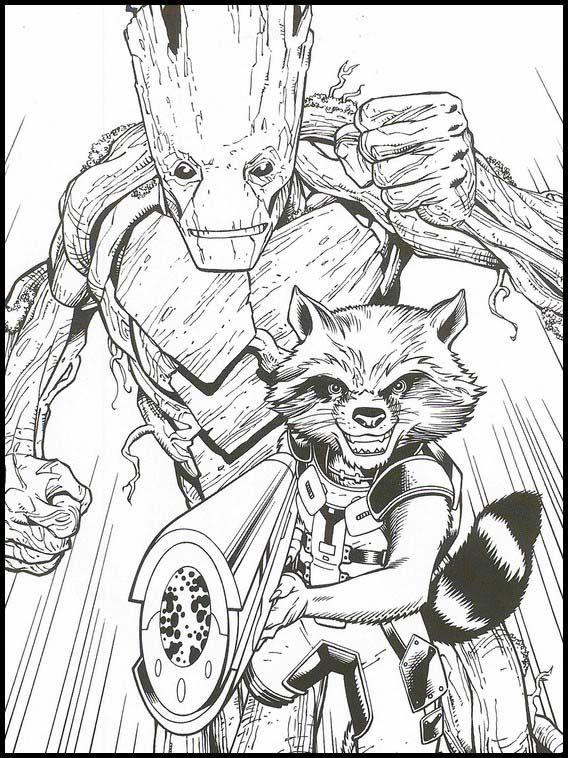 Malvorlagen Avengers Endgame - Kinder zeichnen und ausmalen