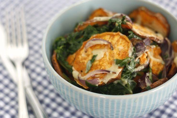 5 or less: Zoete aardappel-bowl