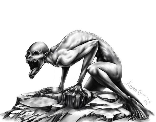 A criatura Rake