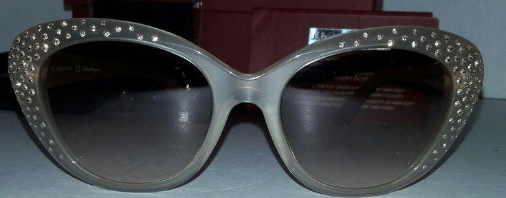 Salvatore Ferragamo SF656SR 278  Pearl Sand Sunglasses Women's -Swarovski   | Clothing, Shoes & Accessories, Unisex Clothing, Shoes & Accs, Unisex Accessories | eBay!