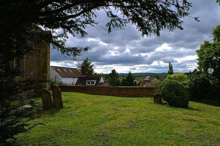 Begraafplaats in Engeland