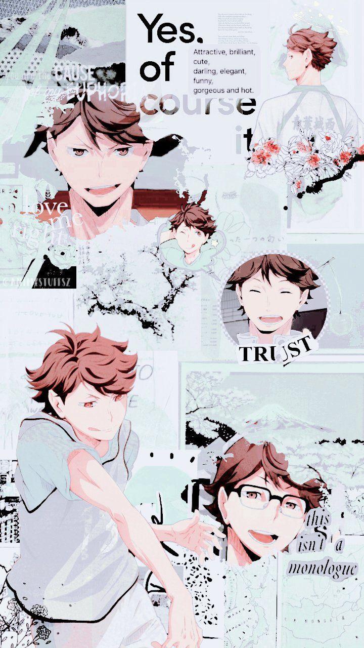 Oikawa Haikyuu Wallpaper : oikawa, haikyuu, wallpaper, Twitter, Anime, Wallpaper,, Haikyuu, Anime,, Aesthetic