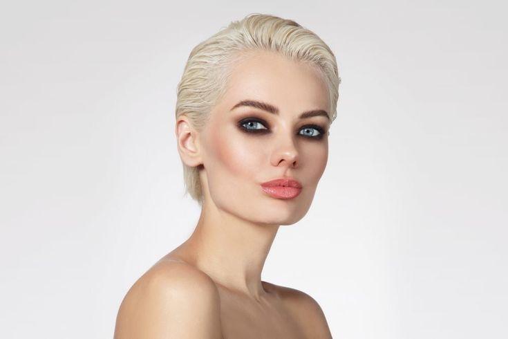 Slicked-Back-Pixie-Haircut Pixie-Frisuren für Damen