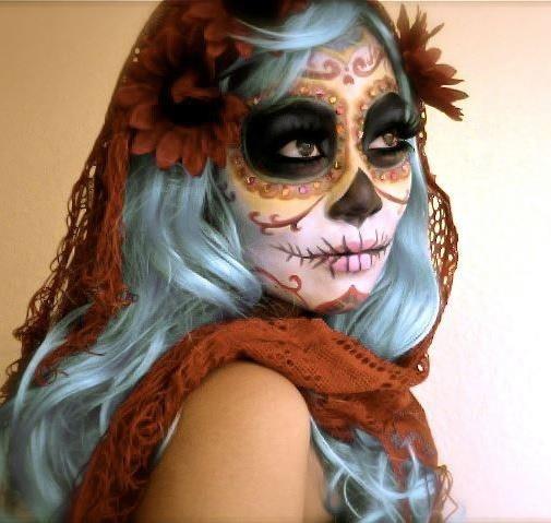 Día de los Muertos Party! Makeup ideas
