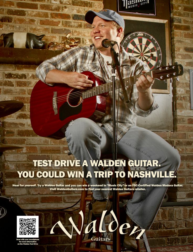 Walden Guitar USA Test Drive ADs