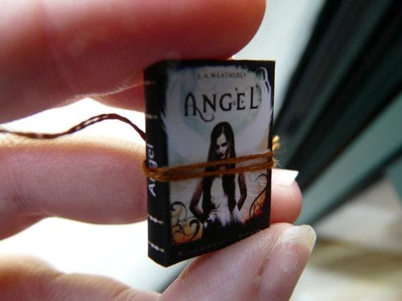 Miniature Book Angel by ChocolatRose on Etsy, $9.50