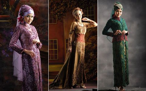 Muslimah Wedding Kebaya