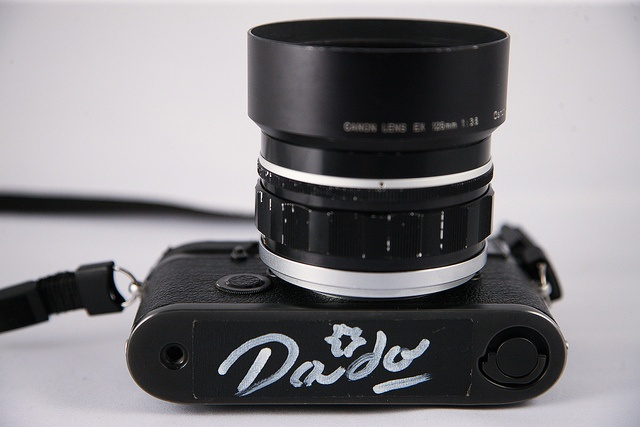 Private Collection - Leica M6 with Canon 50mm f0.95 signed by Daido Moriyama by Zokyo Labs, via Flickr