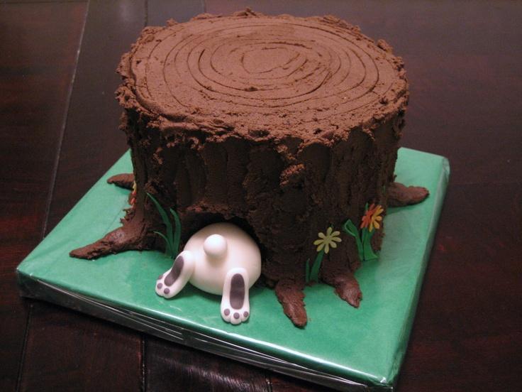 44 Best Trees Amp Tree Stump Cakes Images On Pinterest