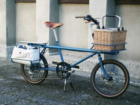 無印 クロモリ自転車