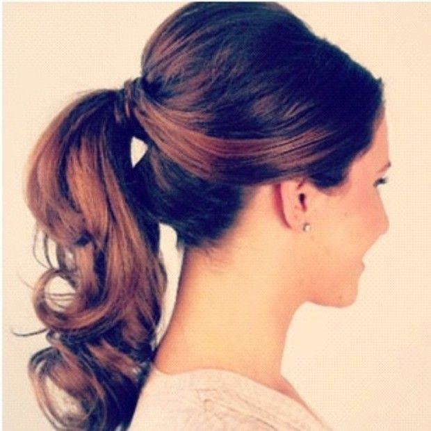Nice Simple Updo for a Family Event or Business Meeting