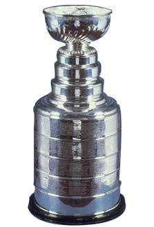 Lord Stanley's Cup, from Hockey Hall of Fame