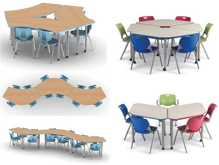 Collaborative Student Desks ~ Best images about interior school cool on pinterest