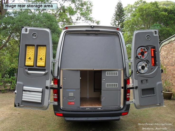Rear Of Columbus Motorhome Australia Moulded Panels To
