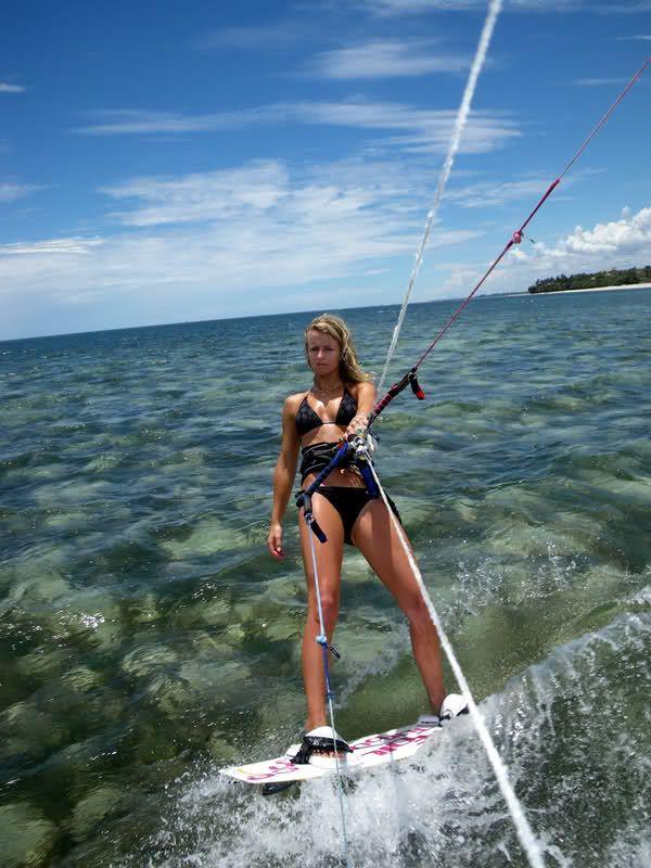 Johara Sykes Davies #kitesurfing #kiteboarding