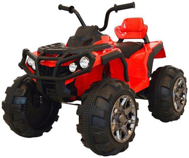 Jamara Elektro Kinderquad Jamara Kids Ride On Protector Quad Rot 12v Belastbarkeit 30 Kg Online Kaufen Led Scheinwerfer Elektro Und Quad