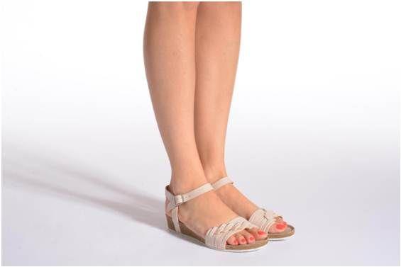 Sandales et nu-pieds Kayemm TBS vue portées chaussures