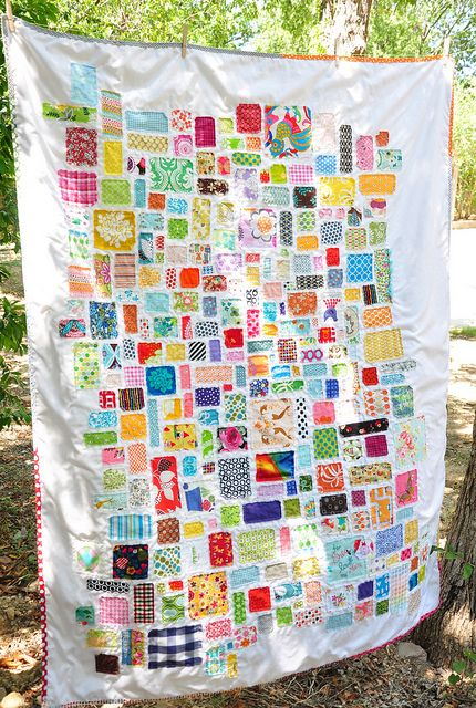 what a great idea for beloved bits of scraps. msullivan on flickr.