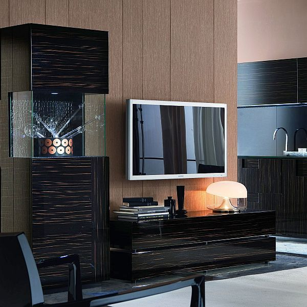 The Nightfly Entertainment Center for the living room