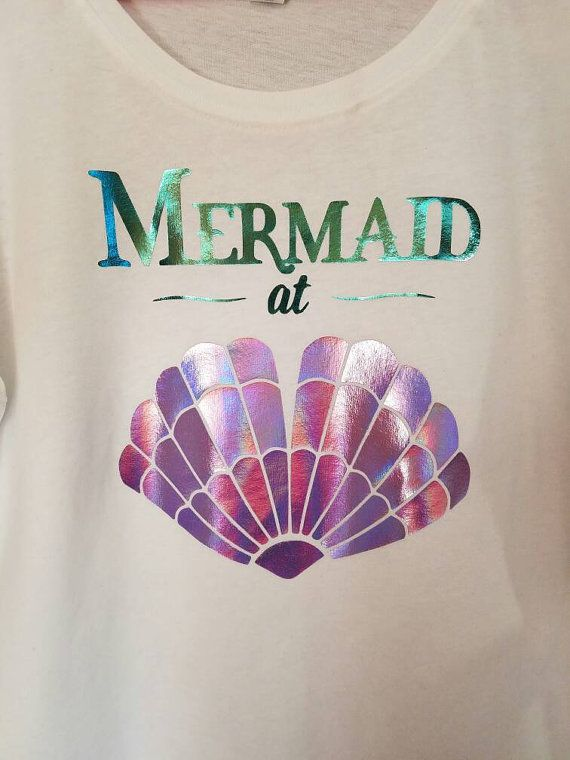 Check out this item in my Etsy shop https://www.etsy.com/listing/461737454/mermaid-holographic-shirt-mermaid-at