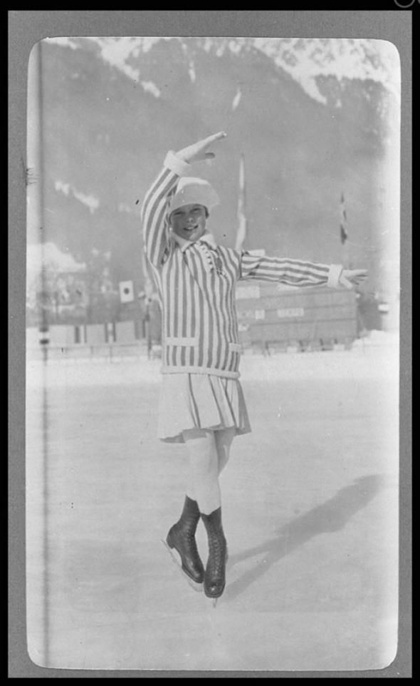 First Winter Olympics: What skaters, ski jumpers, and curlers looked like in 1924.