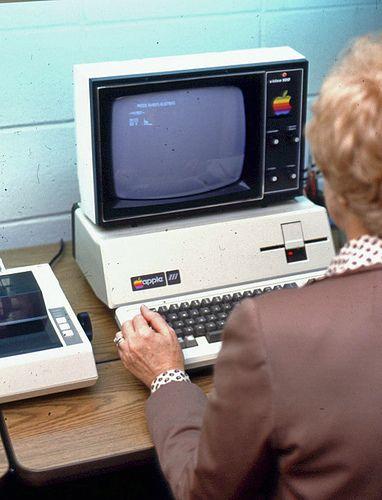Apple III computer, c 1980, University of Arkansas |