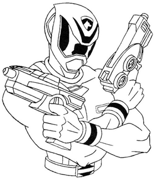 classic power rangers coloring pages - photo #14