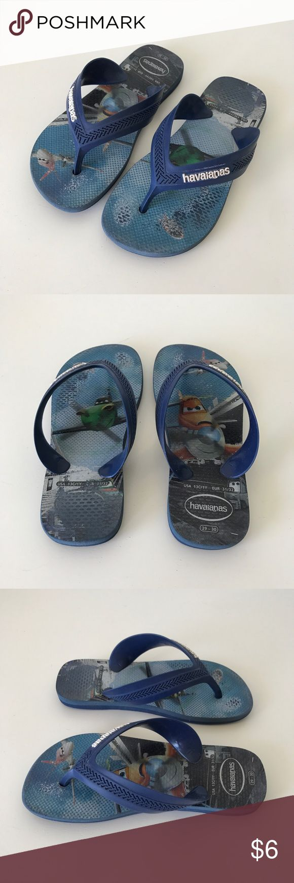 Kids Havaianas Planes Movie Theme Size 29-30 Kids Pre-owned kids Havaianas in good condition. Havaianas Shoes Sandals & Flip Flops
