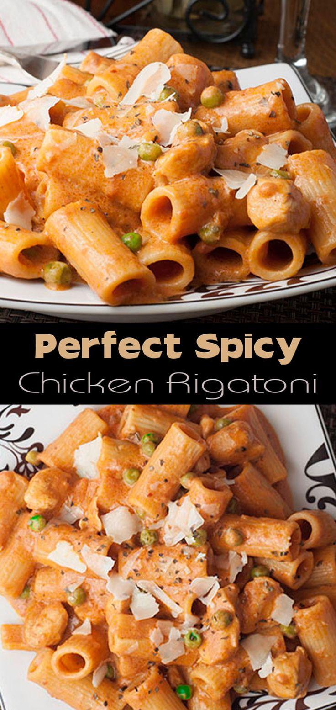 Perfect Spicy Chicken Rigatoni