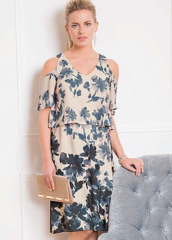 24222ac52c Together Layered Print Dress in 2019