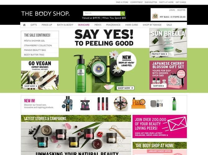 Beauty products inspired by nature and ethically made. Discover our unique collections online at The Body Shop Australia.