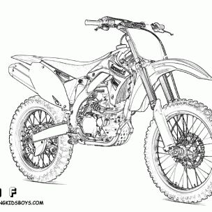 bikes colouring pictures 2 304x303