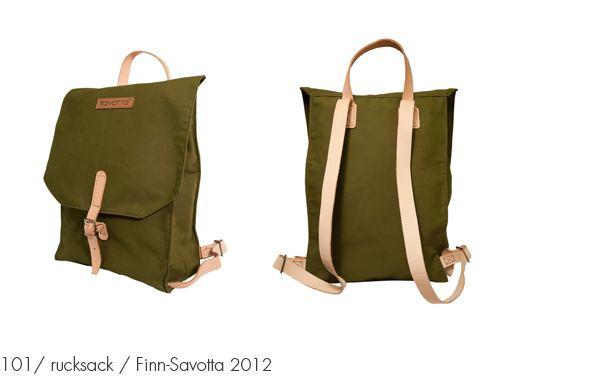 101 / rucksack / Finn-Savotta 2012