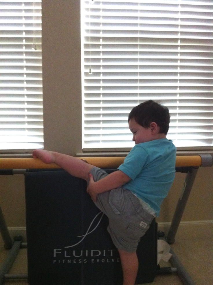 Fluidity Fitness Bar Beginner, Jacob Selph. Fluidity exercises for all ages.  Via Janie Selph