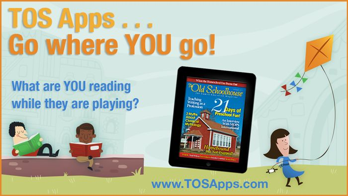 Hey Mama, What are YOU Reading?  Get your free mobile apps today! www.TOSApps.com