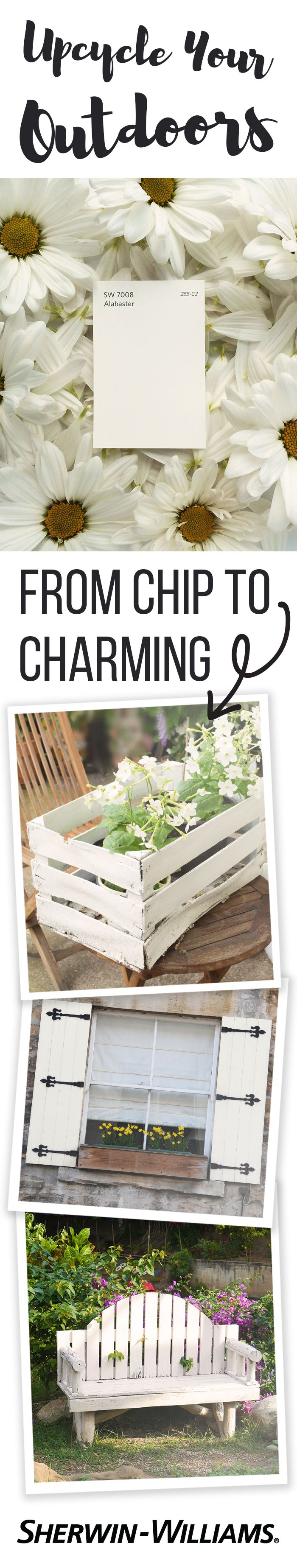 White apron green thumb - Summer S Here Which Means Color S In Bloom Time To Get Outside And Put That