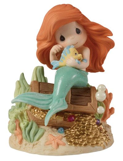 Precious Moments Disney Princess Love Is The Greatest Treasure 153010 Limited of Michigan 1.0 - #preciousmoments #disneyprincess