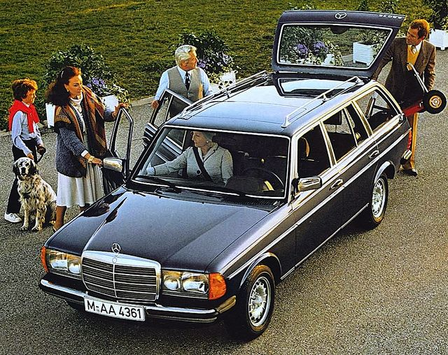1983 Mercedes-Benz 280TE (W123)