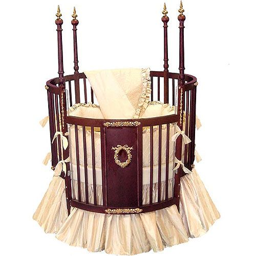 Cherry Avila Round Crib From PoshTots